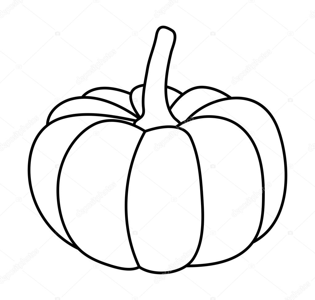 abóbora de Halloween vector símbolo ícone do design. Bela ...