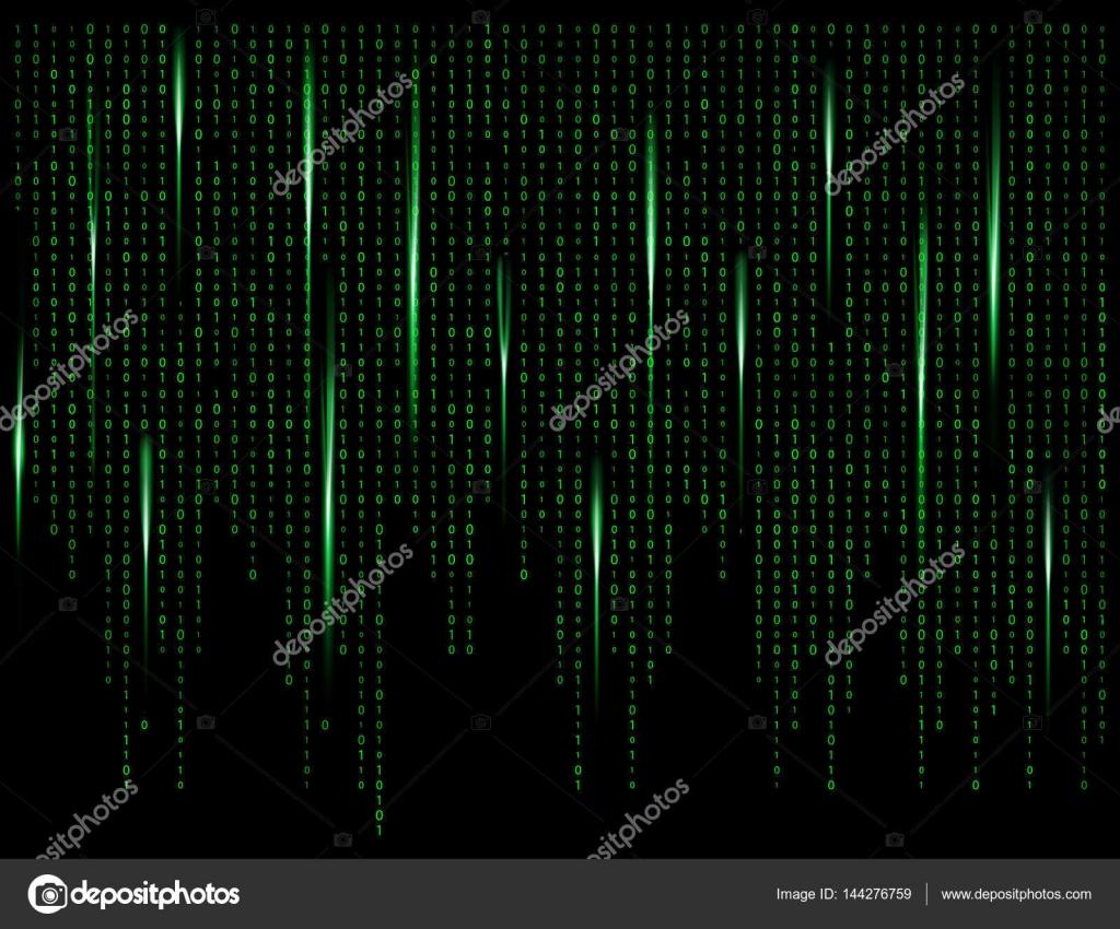 vector hacker wallpaper live binary code zero one matrix green background beautiful banner wallpaper stock vector c newelle 144276759 https depositphotos com 144276759 stock illustration binary code zero one matrix html