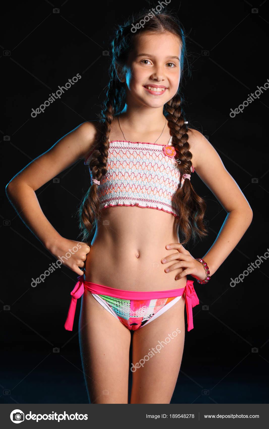 Pig tail bikini models