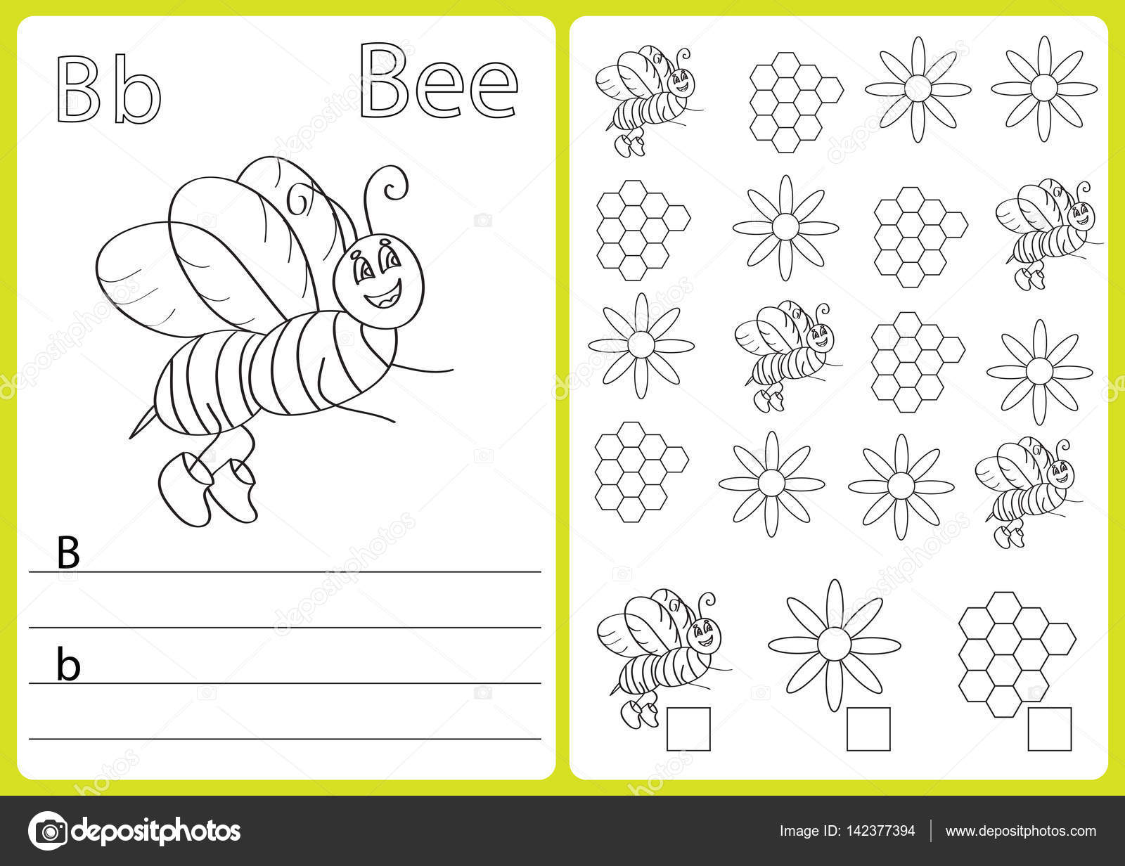 Alphabet A-Z - puzzle Worksheet, Exercises for kids - Coloring book ...