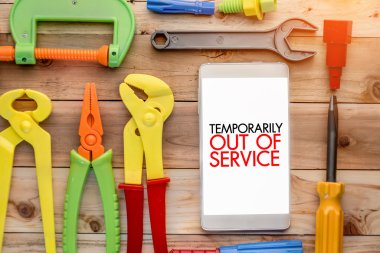 temporary out of service