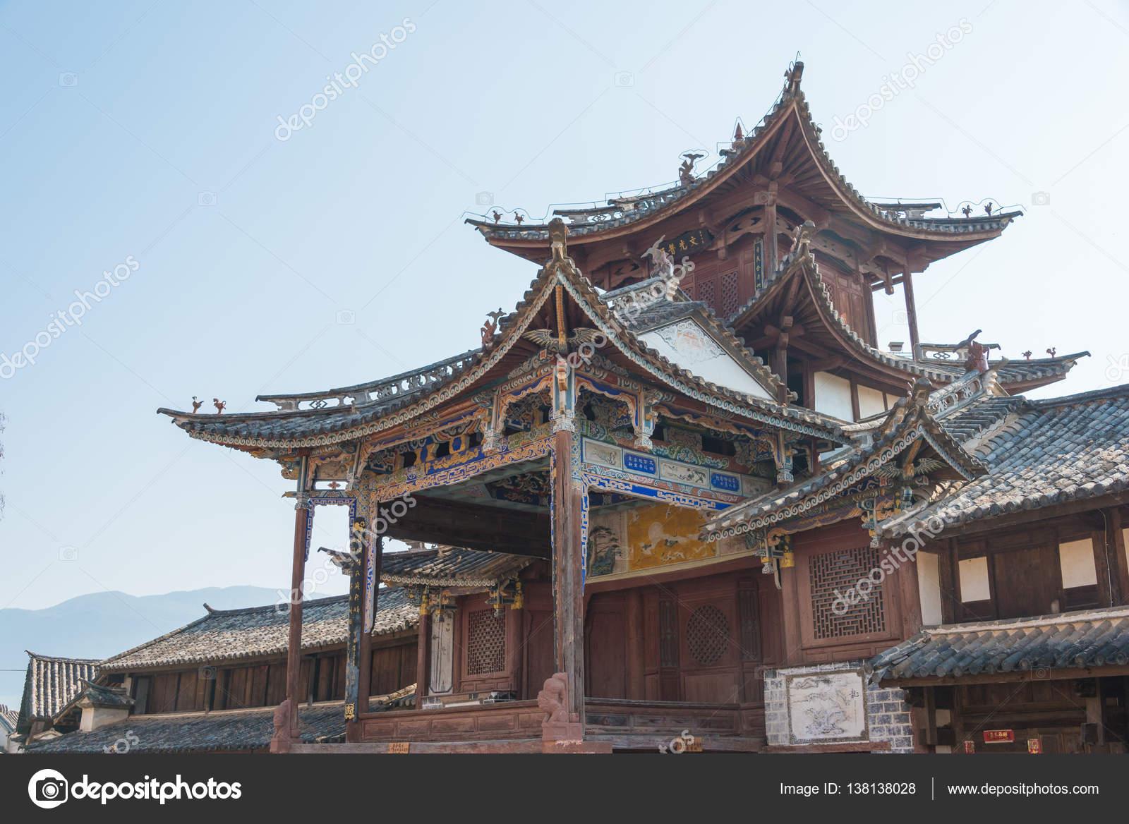 YUNNAN CHINA MAR 20 2015 Shaxi Ancient village a famous Ancient