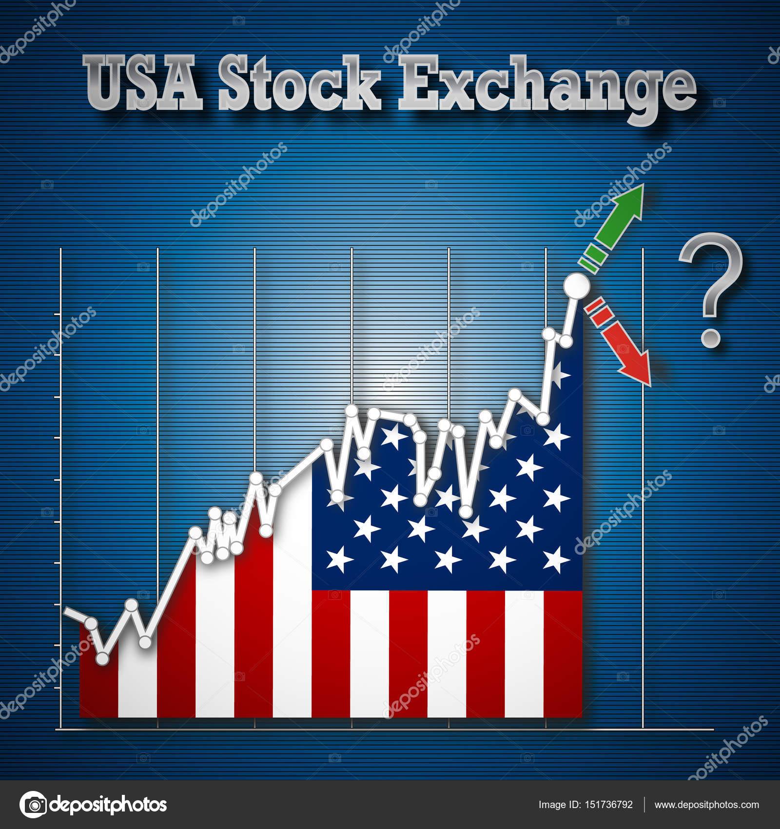 Usa Como Ilustración De — Valores Stock Bolsa Fotos nOP0w8kX