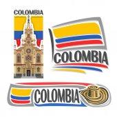 Photo Vector logo Colombia