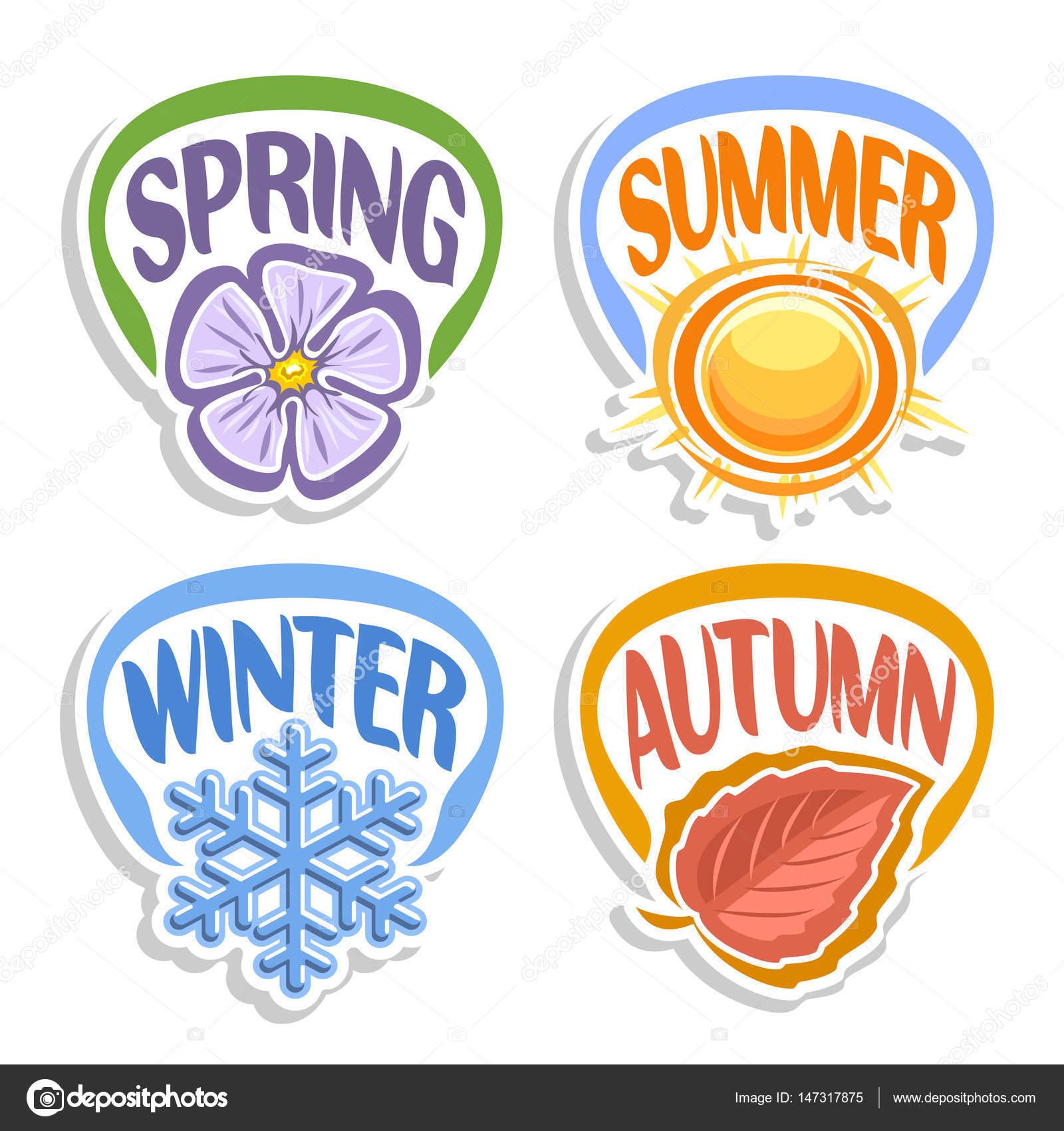 vector logo four seasons � stock vector 169 mihmihmal 147317875
