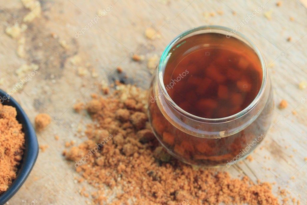 Süßgras Jelly Getränk — Stockfoto © oilslo #127123772