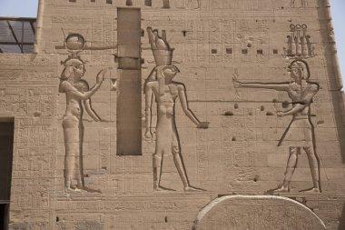Philae Temple on the Nile River, Aswan, Egypt, on Agilkia Island.