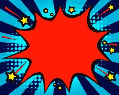 Bubble offer splash vector illustration