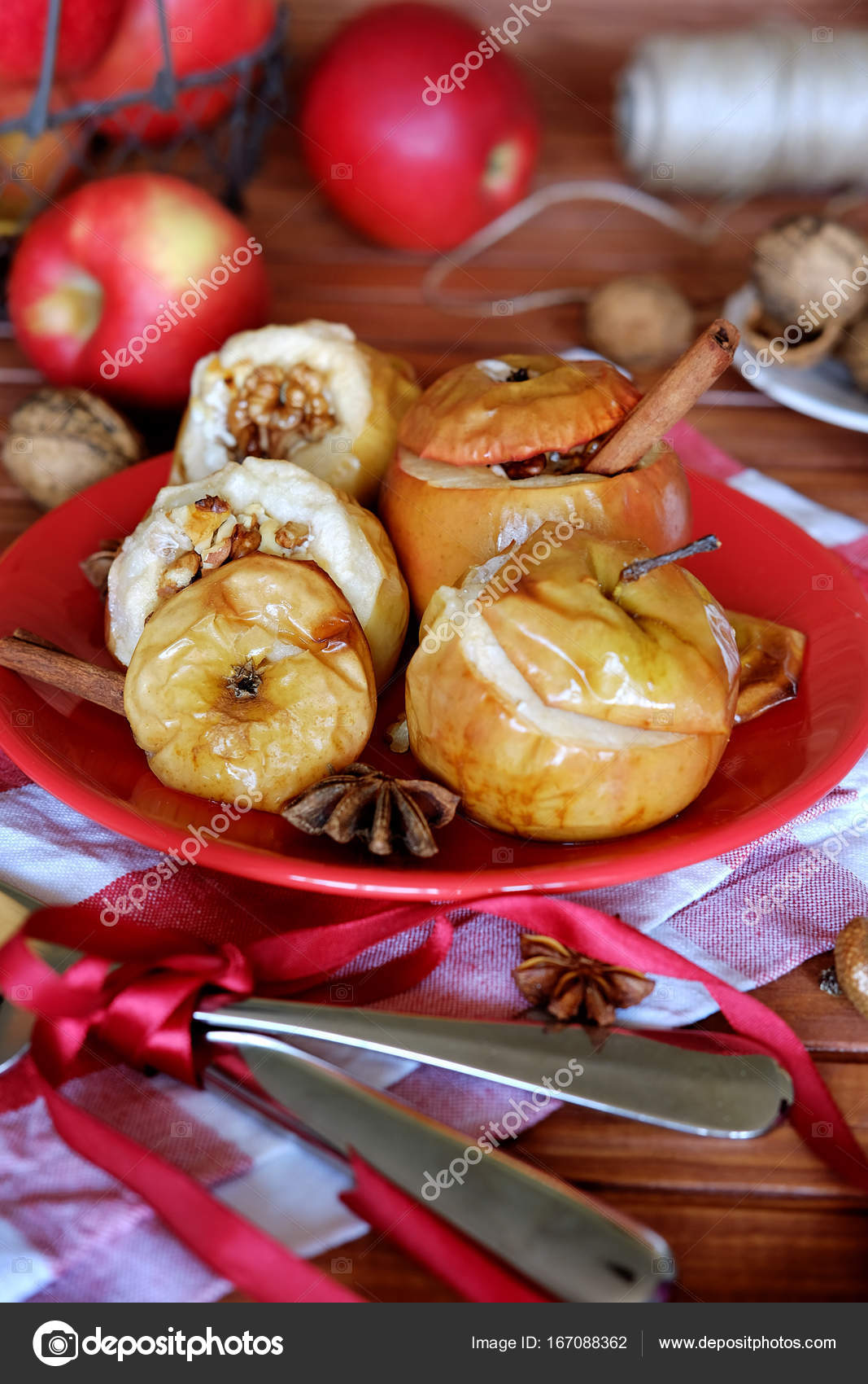Fırında Elma