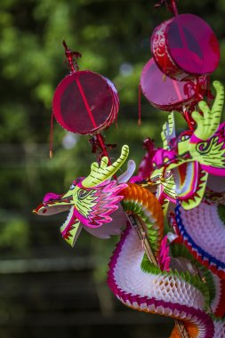Buddhist festival in Chinese temple in Trang, Thailand