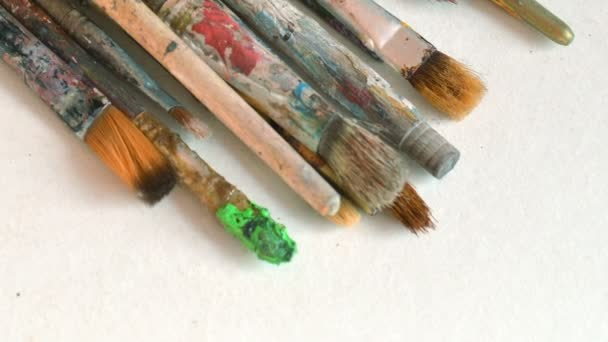 Close Up Of A Paint Brush