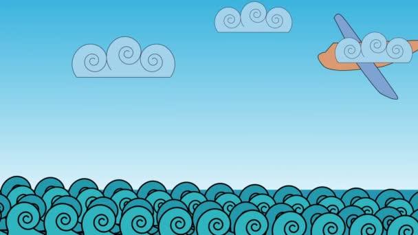 Incidente aereo alle onde delloceano