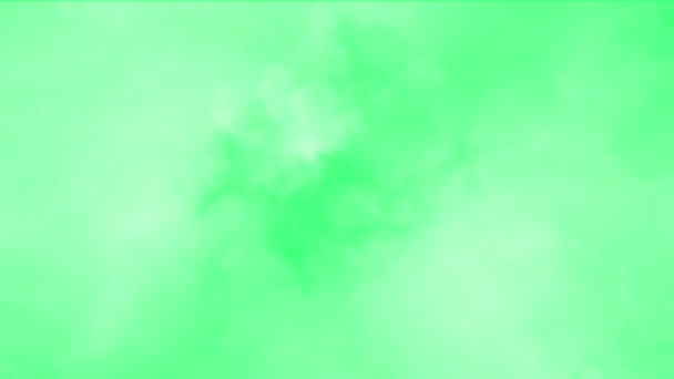 Clouds effect on green screen