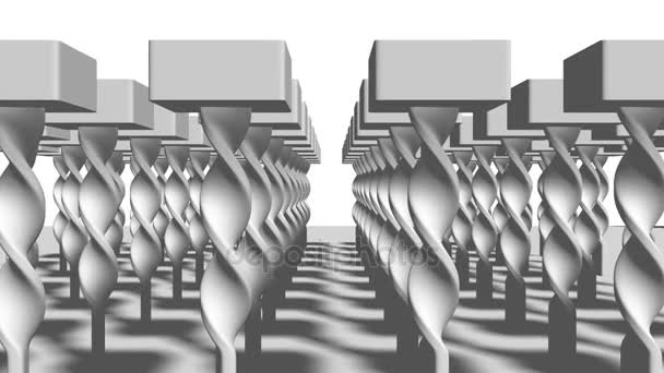 3d Rendering of twisted Construction