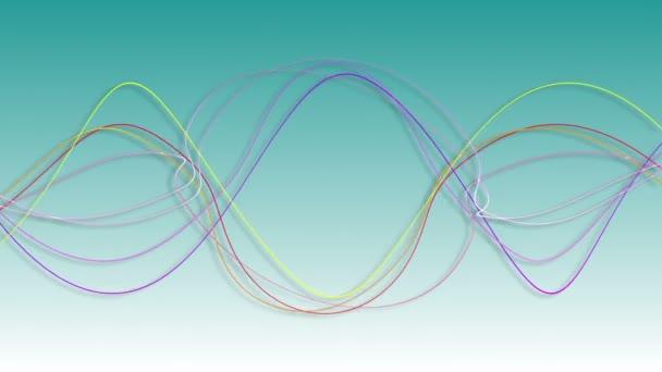 zvlnění rytmu vln linie pozadí, ekvalizér vibrace zvukový vzorek pozadí, věda radarový signál energetické technologie
