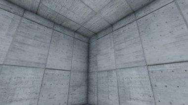 Modernen minimalistischen badezimmer interieur schwarz und weiß