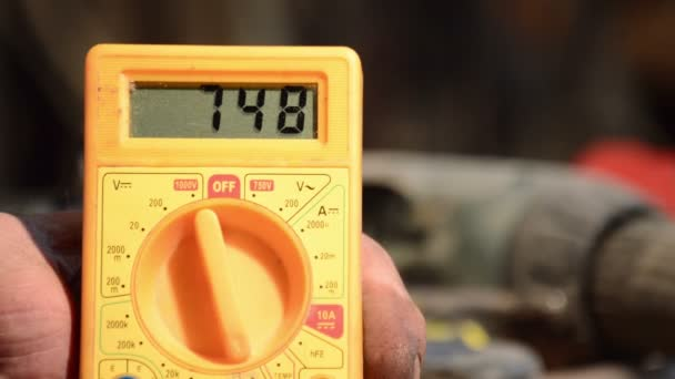 Measure AC voltage with a digital multimeter