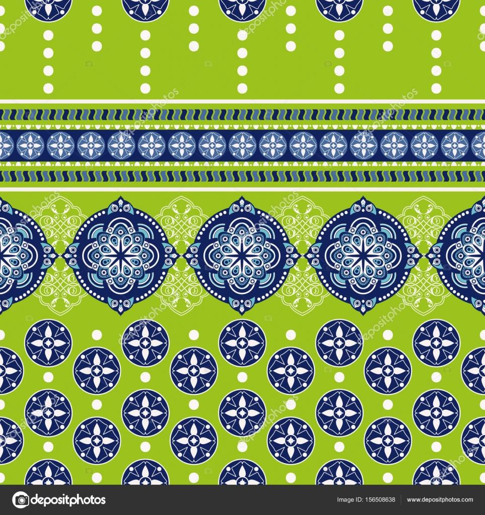Ornamento geométrico para tejer, hacer punto, bordado, papel pintado ...
