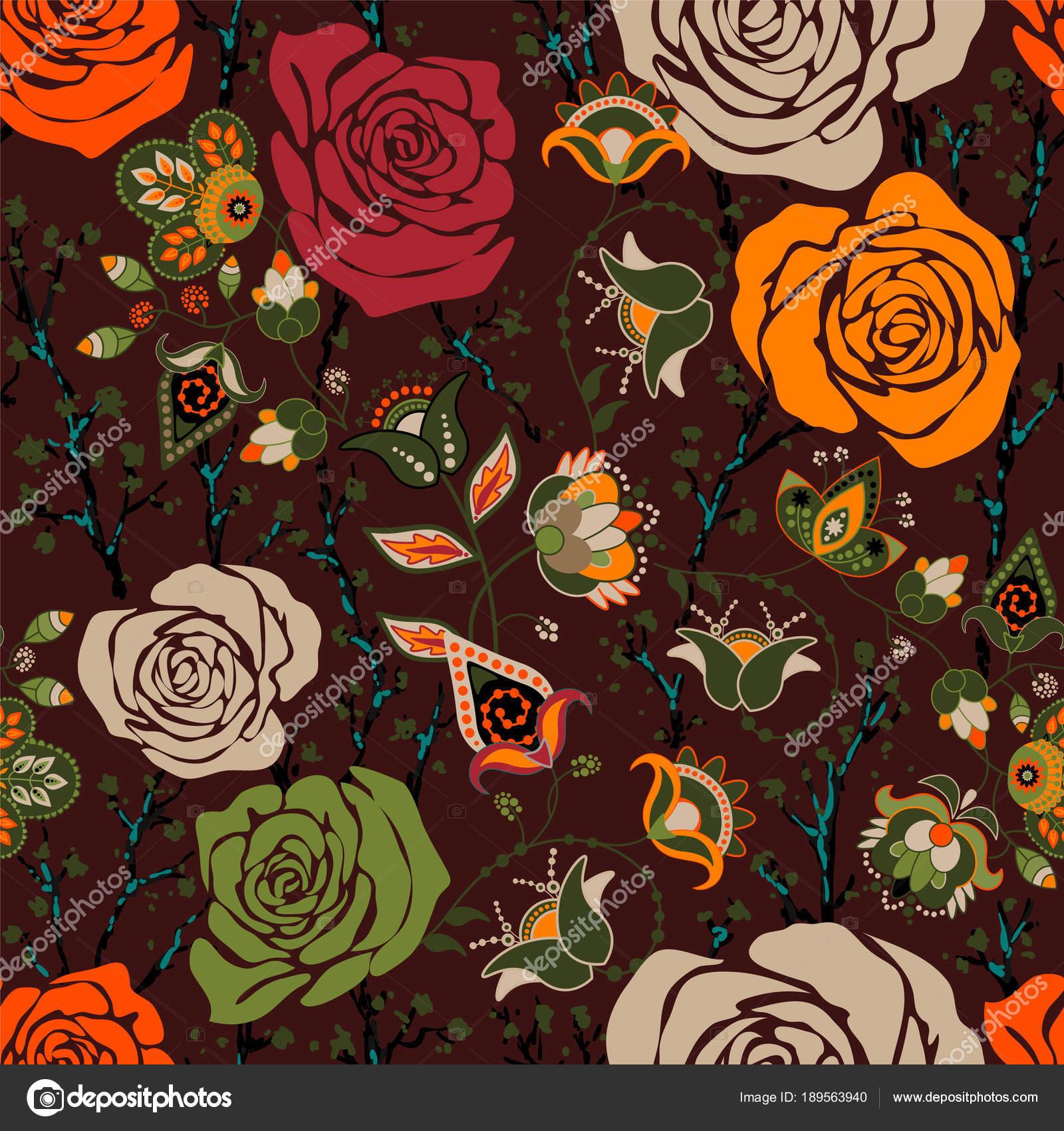 Fondos Coloridos Para Iphone Patron De Colores Con Rosas Flores