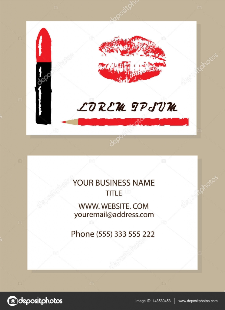 vector business cards — Stock Vector © lilac-design #143530453
