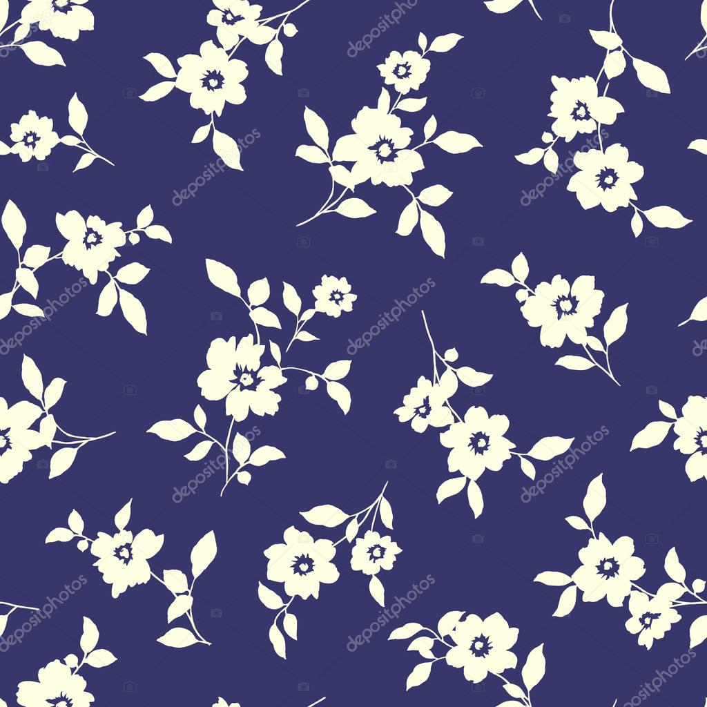 Abstract flower pattern