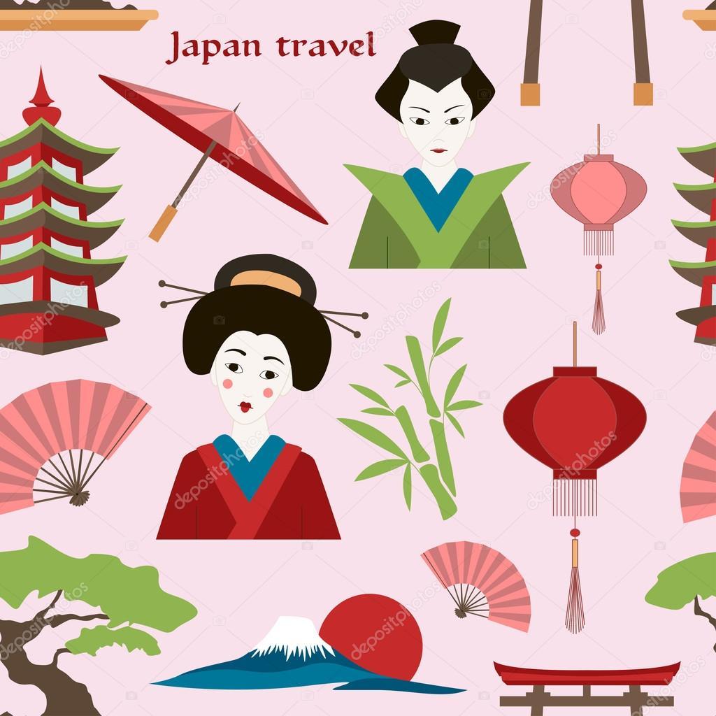 Japan travel pattern