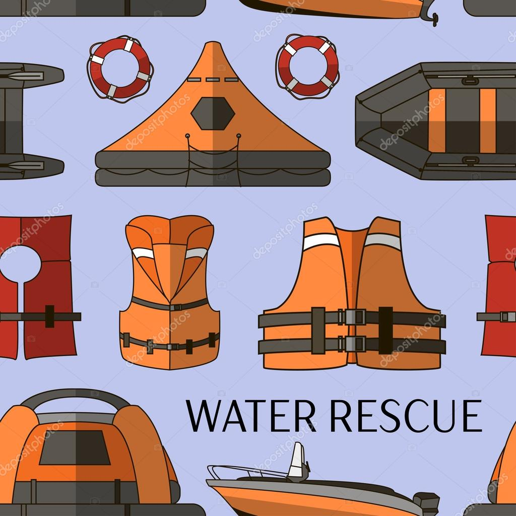 Water rescue set pattern