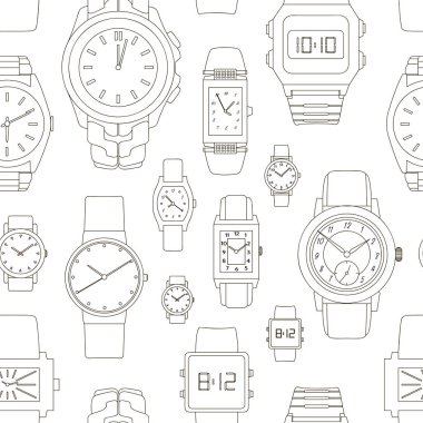 Pattern of watches
