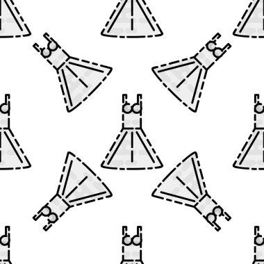 Wedding flat pattern
