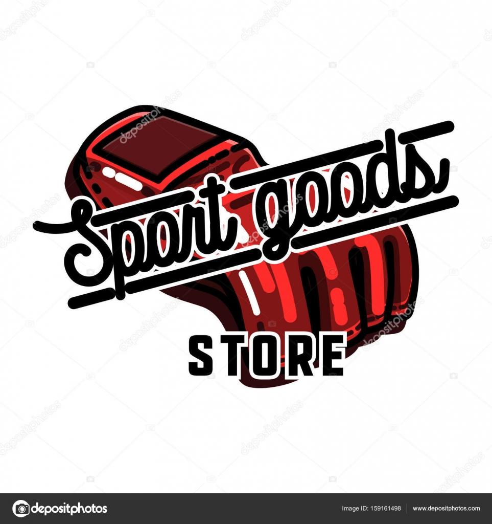 1c293c85b73d Цвет винтажные спортивные товары эмблема — Векторное изображение ...