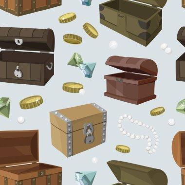 Hidden treasures set pattern