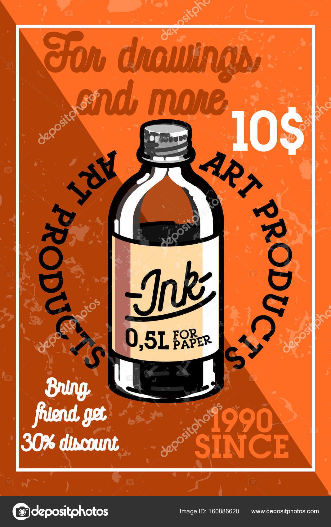5c7979e746f Bandeira Loja Produtos Vintage Arte Cor Elementos Design Desenvolvimento  Design — Vetores de Stock