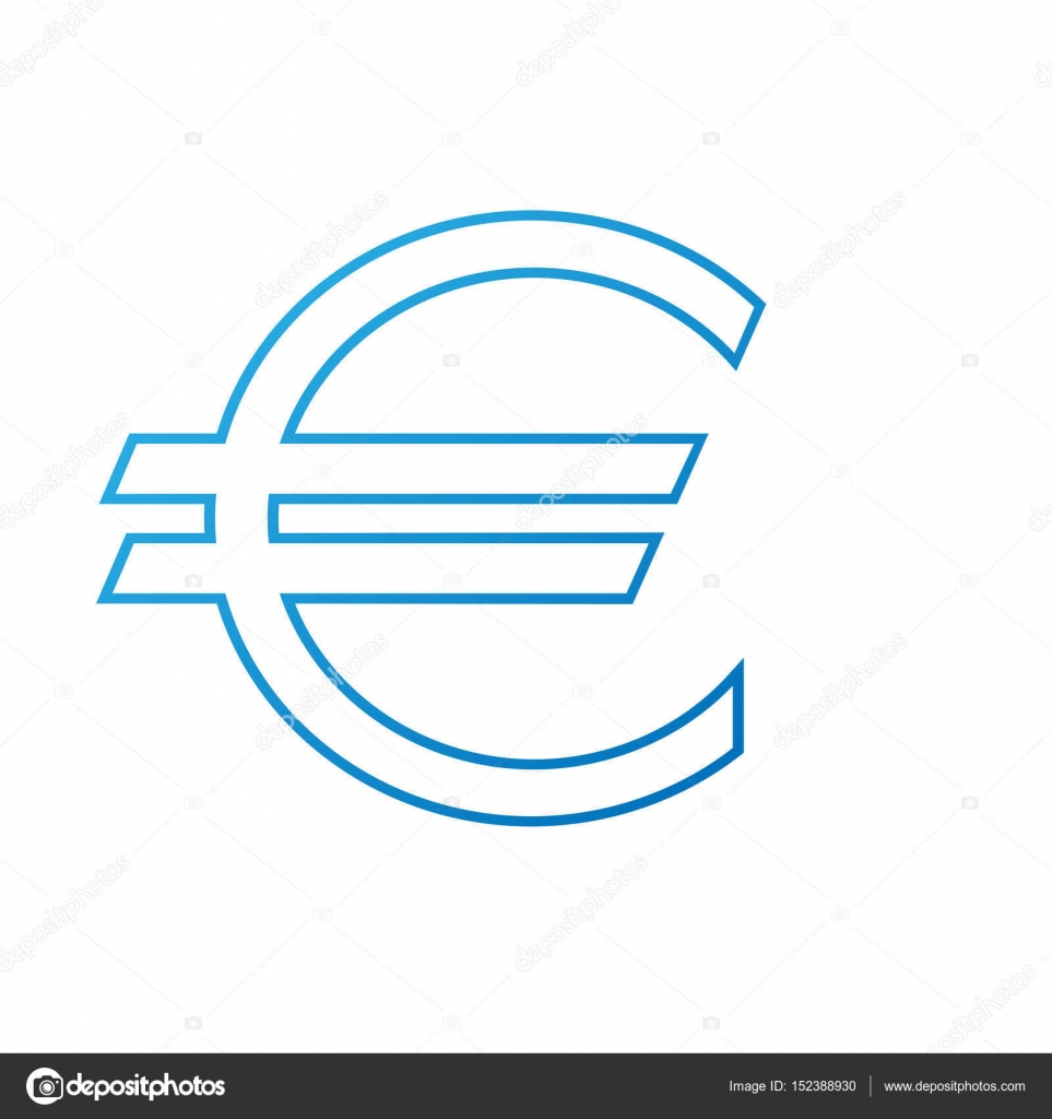 Blue euro sign stock vector kozar12 152388930 blue euro sign symbol for banking institutions vector by kozar12 biocorpaavc Gallery