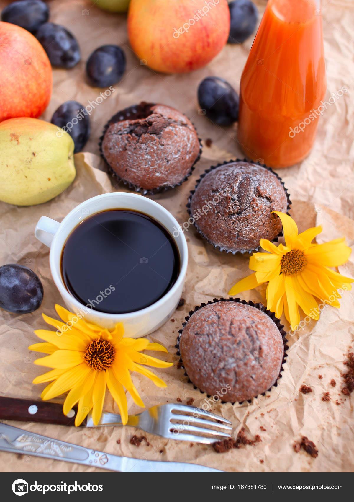 Einzigartig Guten Morgen Frühstück Das Beste Von Einen Wunderschönen Frühstück Auf Einem Hellen Hintergrund.