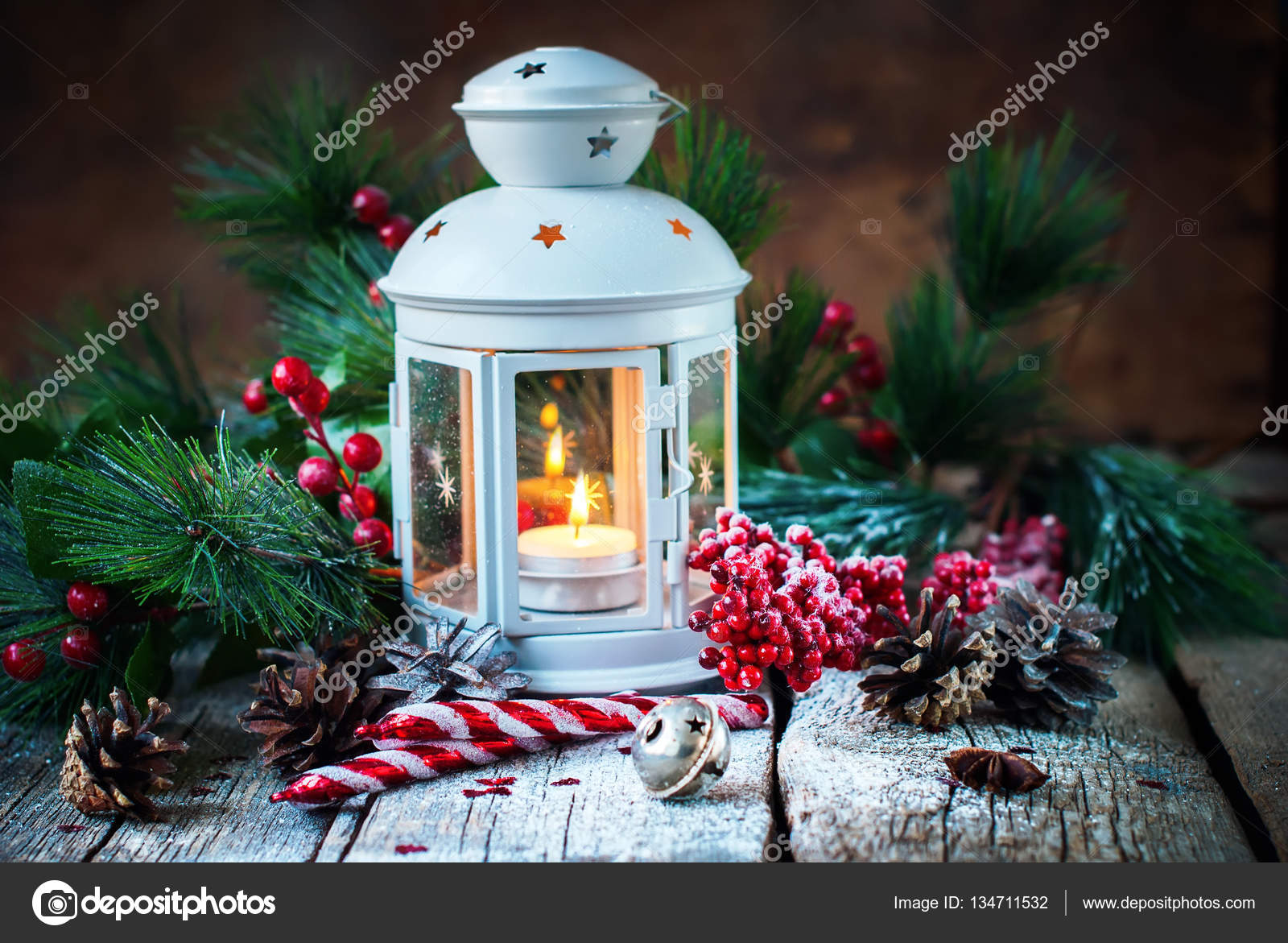 ae6ae9dbe4c1 Drawn Snow Holiday Christmas Gifts Red Ball — Stock Photo © OlgaPink ...