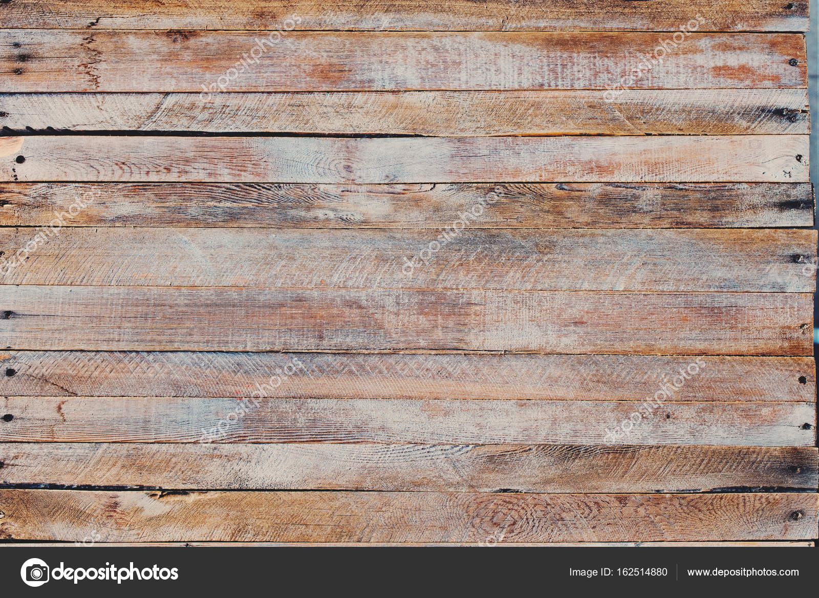 Bleu peint vieux bureau en bois minable u photographie olgapink