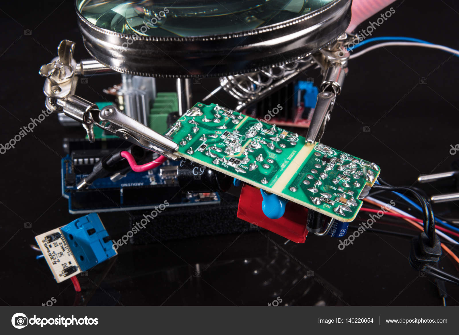 Board Assembly Services Buy Circuit Assemblyelectronic Electronic Stock Photo Leonid Shtandel Of On The Pasteboard Low Key By