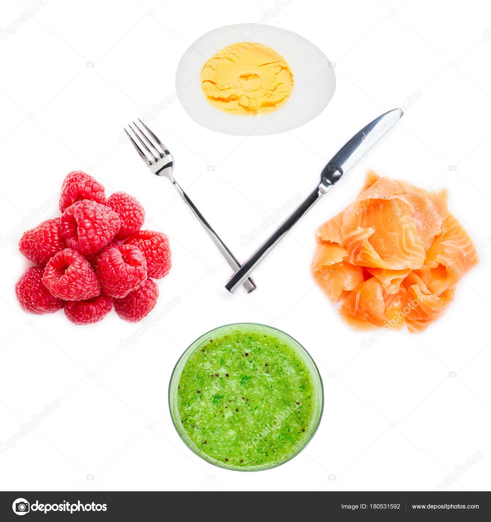 como comer saludable durante el dia