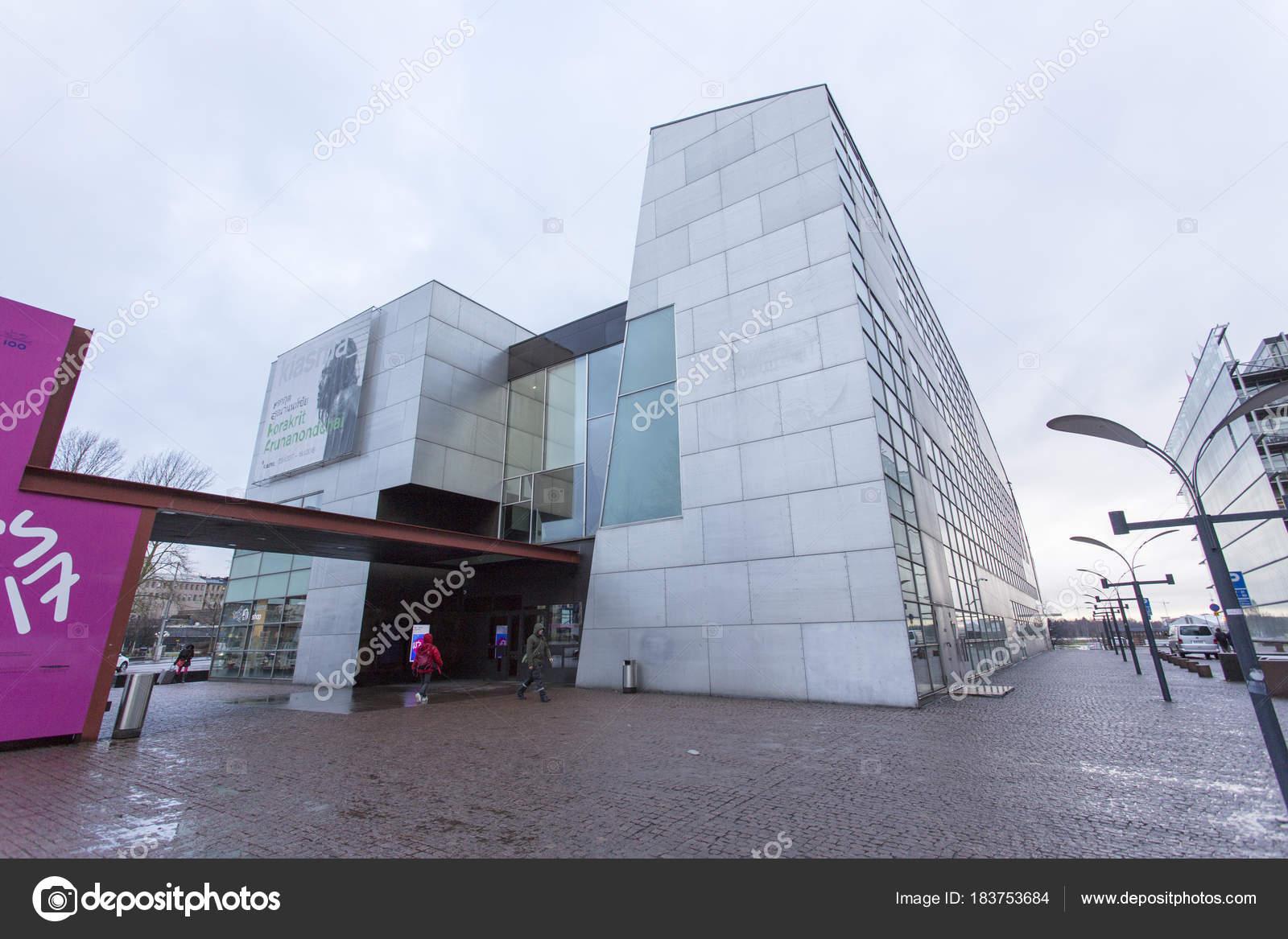 modernes Museum für zeitgenössische Kunst-Gebäude — Redaktionelles ...