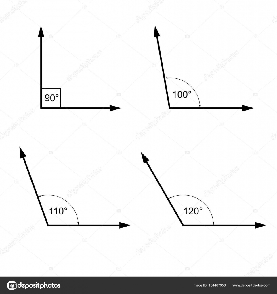 depositphotos_154467950 stock illustration angles in degrees geometry math