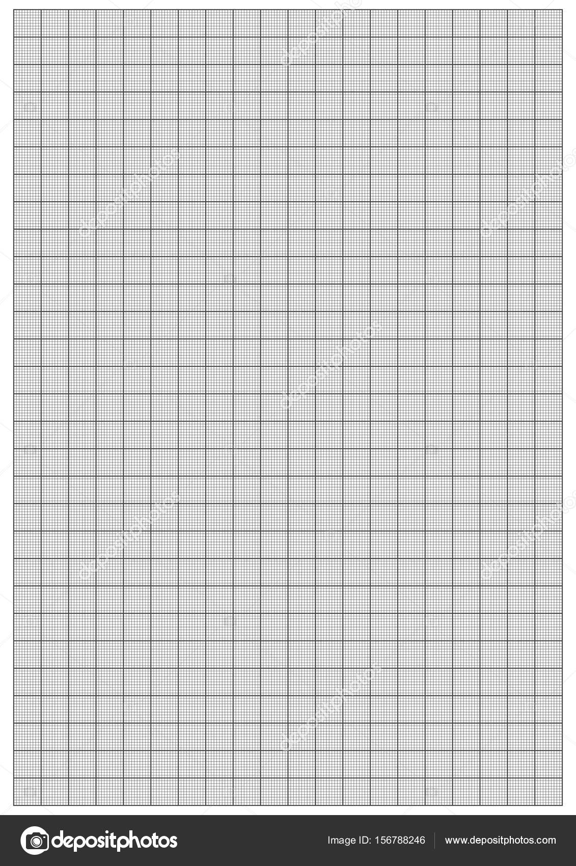 Graph Paper 1mm Square A4 size vector — Stock Vector © attaphongw ...