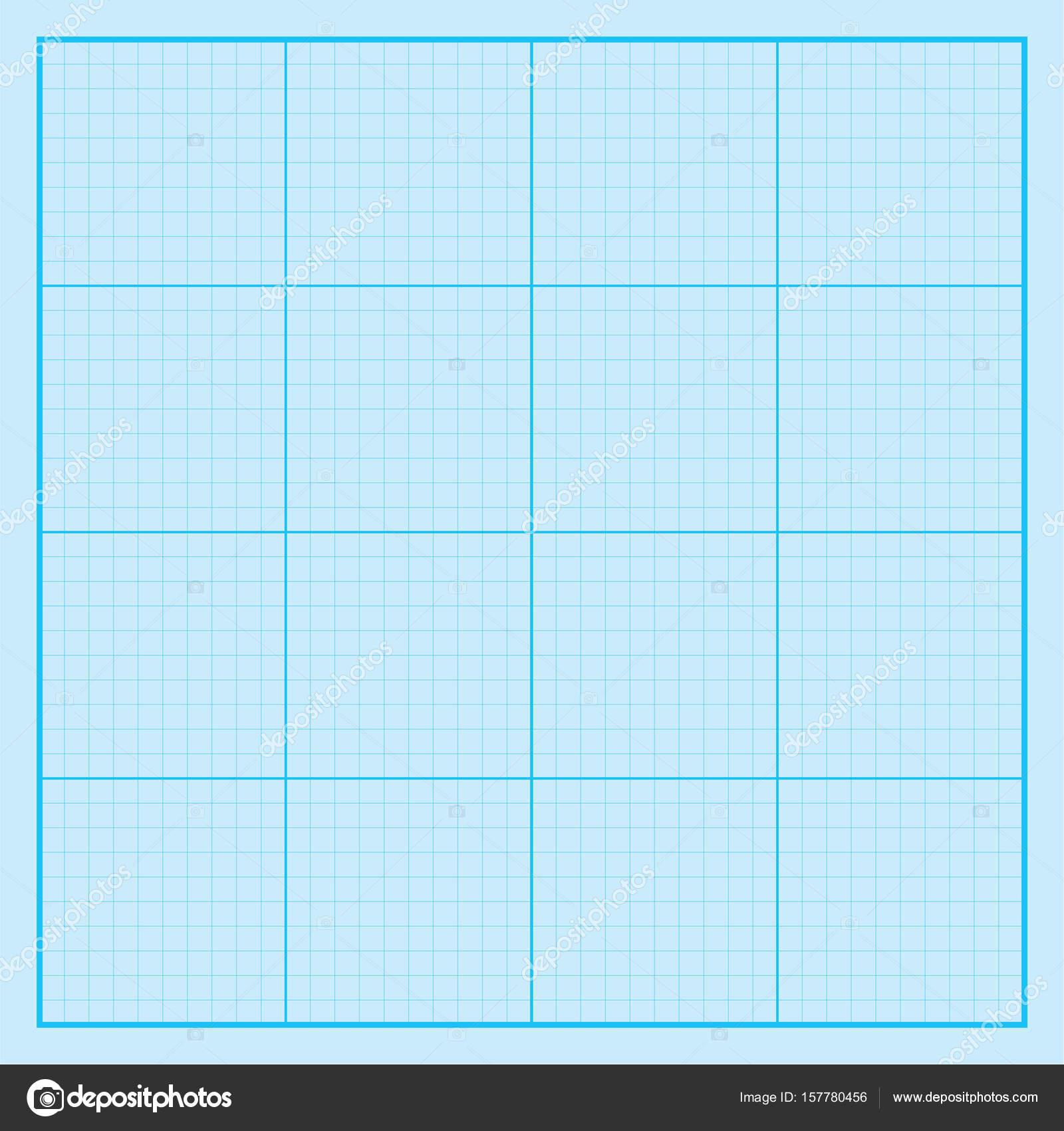 Grille De Papier Graphique Bleu Coordonnee Papier Papier Quadrille