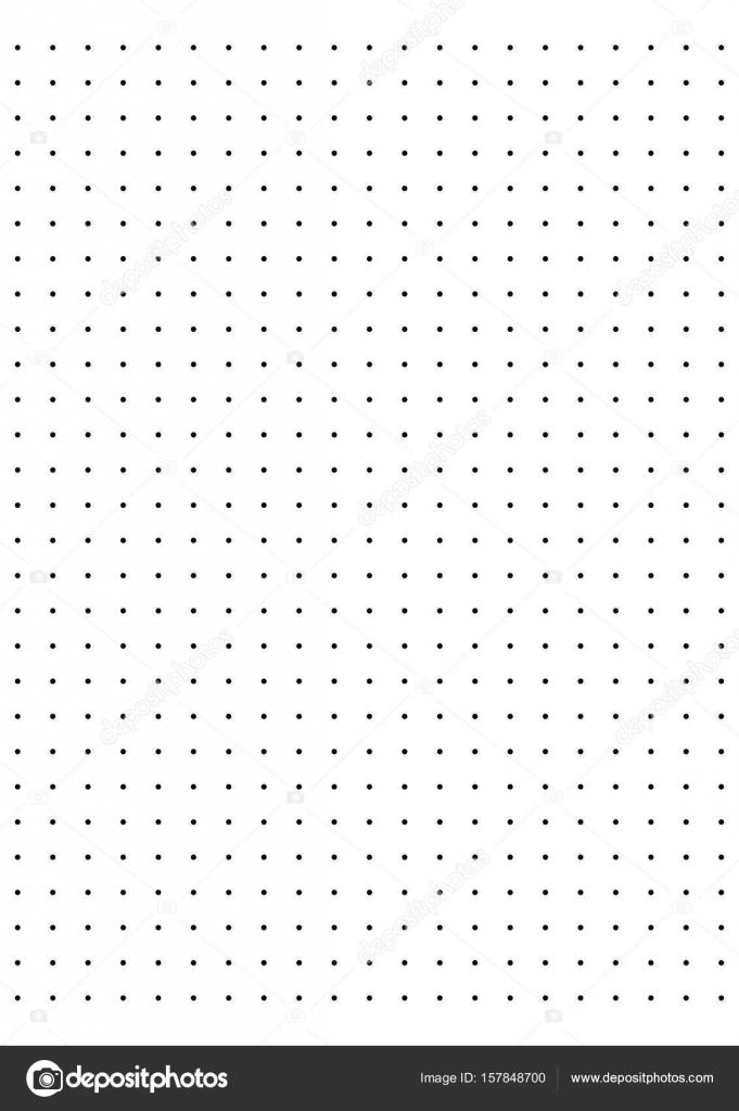 full page centimeter dot paper vector stock vector attaphongw