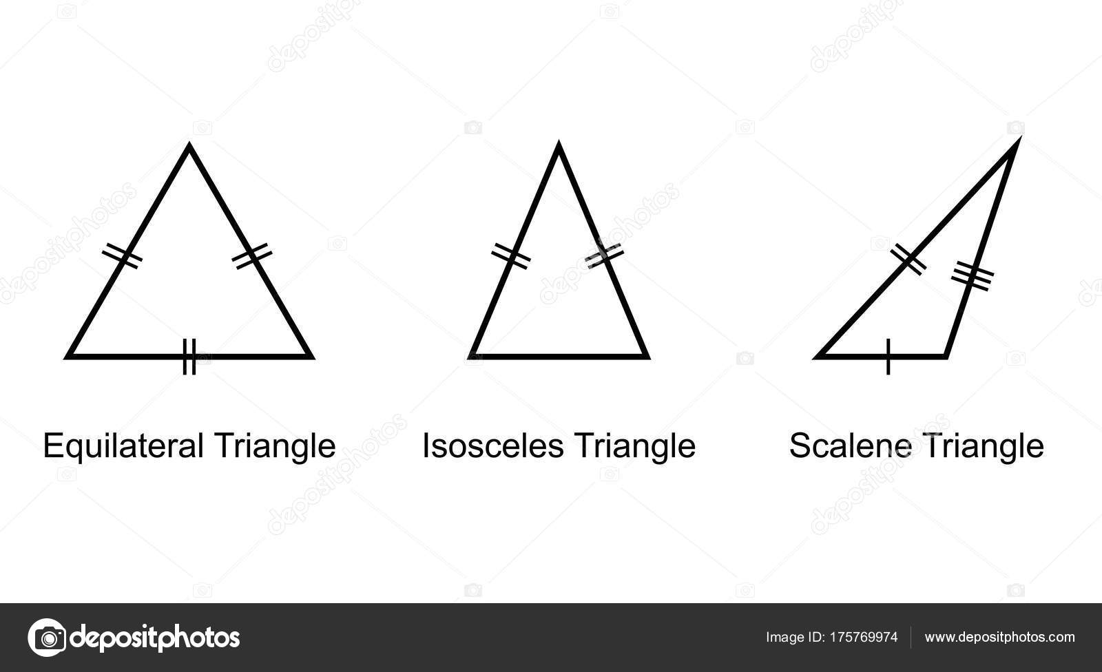 Types triangles white background vector stock vector attaphongw types triangles white background vector stock vector ccuart Gallery