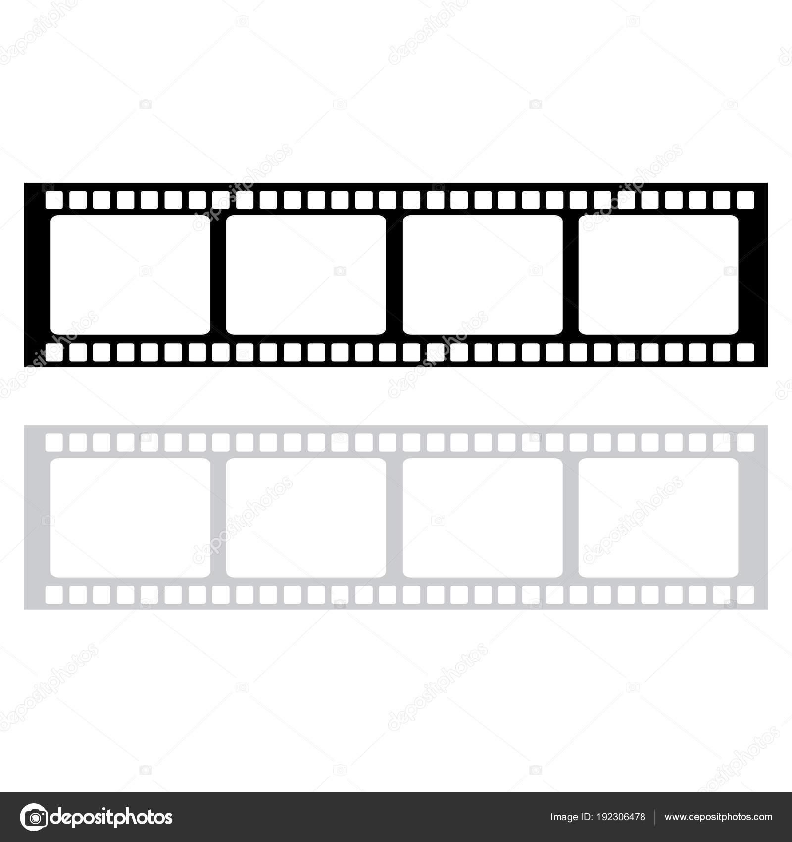 Leere Film Frame Stock Illustration Bild Von Frame Film Vektor
