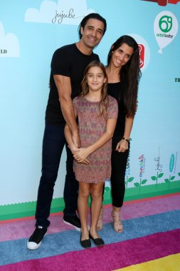 Gilles Marini actor with family