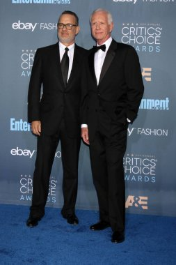 Tom Hanks with Chesley Sullenberger