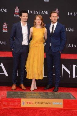 Damien Chazelle, Ryan Gosling, Emma Stone