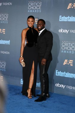 Eniko Parrish with Kevin Hart