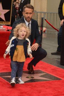 actor Ryan Reynolds with James Reynolds